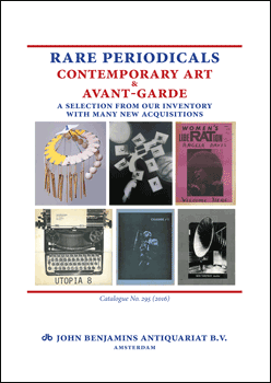 Catalog 295: Rare Periodicals - Contemporary Art & Avant-Garde
