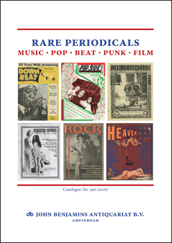 Catalog 296: Rare Periodicals: Music, Pop, Beat, Punk, Film