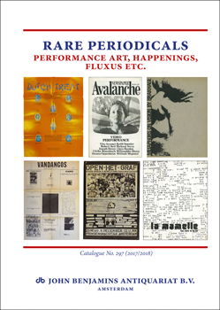 Catalog 297: Rare Periodicals - Performance Art, Happenings, Fluxus etc.