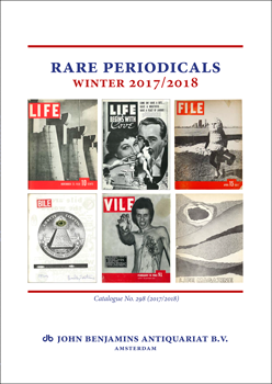 Catalog 298: Rare Periodicals - Winter 2017/2018