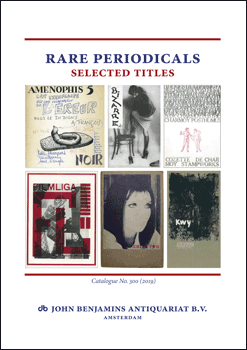 Catalog 300: Rare Periodicals - Selected Titles